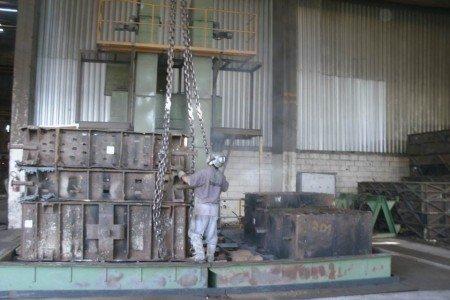 Mesa Desmoldadora Classificadora